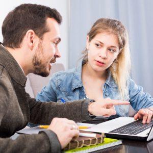 tutor con alumna